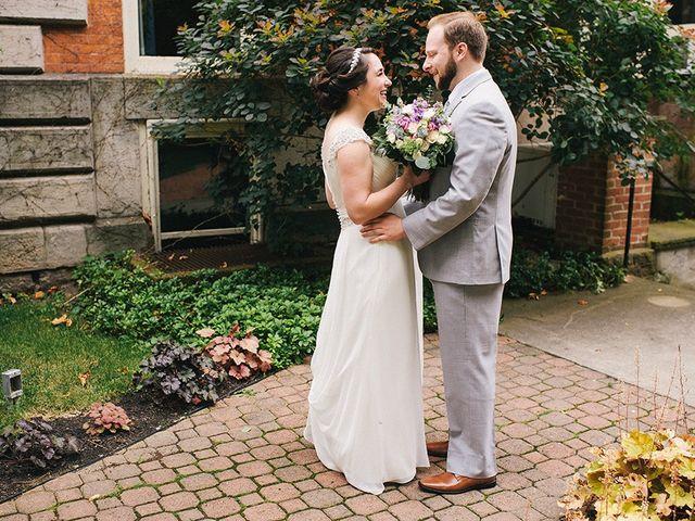 Ben and Sarah's Wedding in Buffalo, New York 10