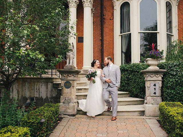 Ben and Sarah's Wedding in Buffalo, New York 15