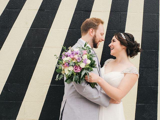 Ben and Sarah's Wedding in Buffalo, New York 17