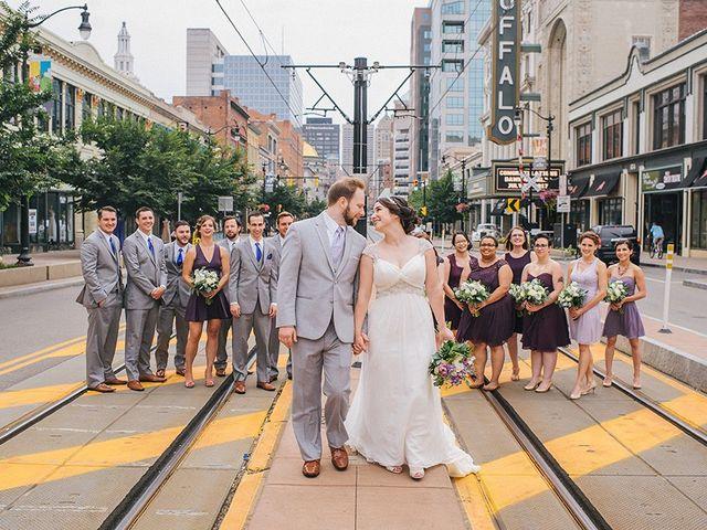 Ben and Sarah's Wedding in Buffalo, New York 31