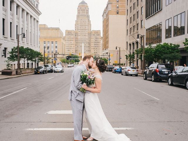 Ben and Sarah's Wedding in Buffalo, New York 33
