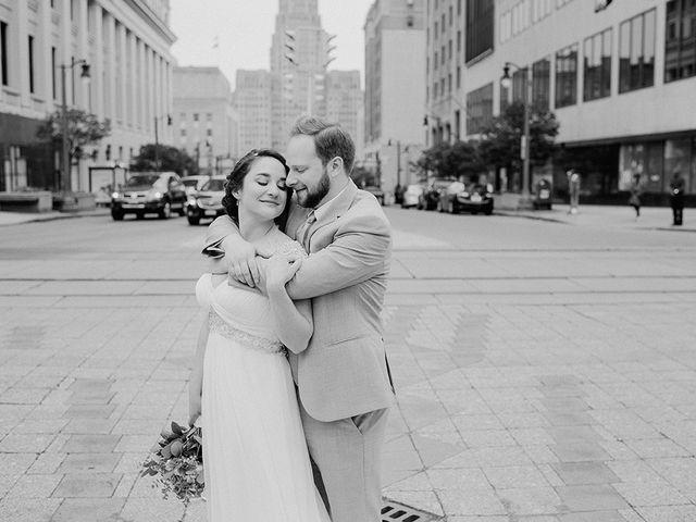 Ben and Sarah's Wedding in Buffalo, New York 34