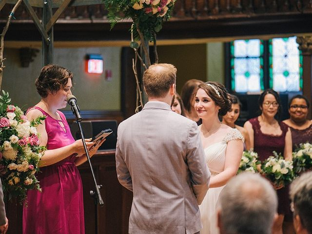 Ben and Sarah's Wedding in Buffalo, New York 43