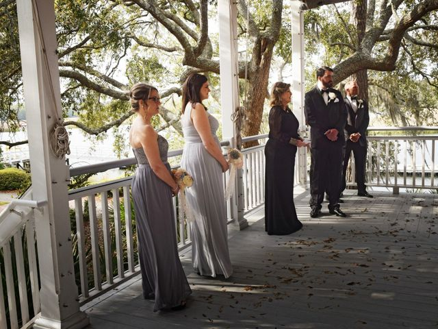 George and Michelle's Wedding in Charleston, South Carolina 40