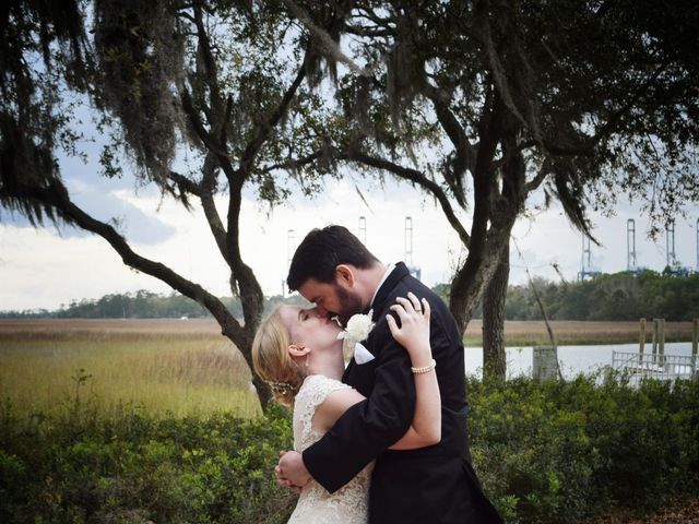 George and Michelle's Wedding in Charleston, South Carolina 55