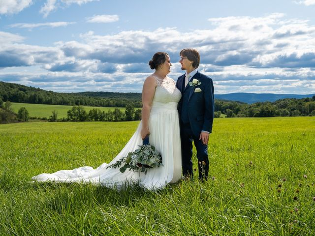 The wedding of Emily and Carson