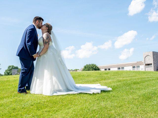The wedding of Alysa and Benjamin