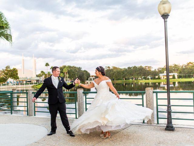 The wedding of Marci and Aaron