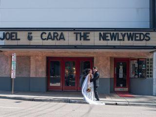 The wedding of Cara and Joel