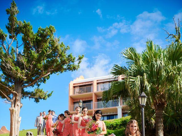 Chris and Diana's Wedding in Hamilton, Bermuda 10
