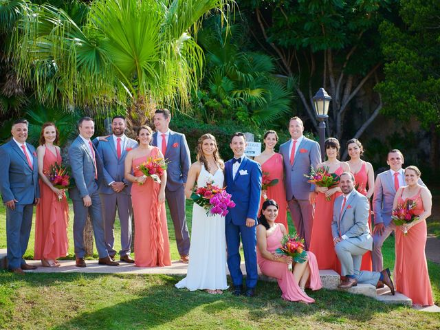Chris and Diana's Wedding in Hamilton, Bermuda 11