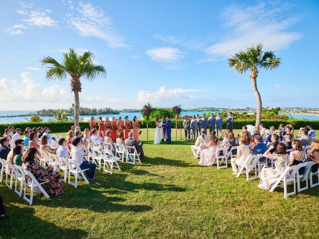 Chris and Diana's Wedding in Hamilton, Bermuda 20