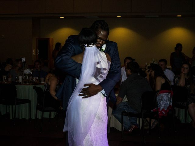 Monique and Matthew's Wedding in Brookings, South Dakota 9