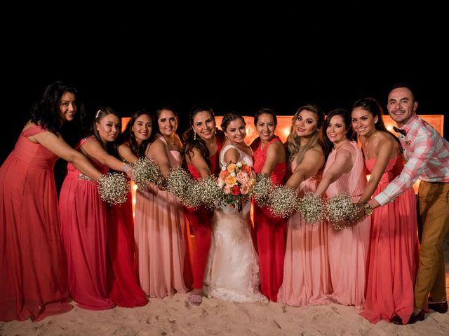 Rafa and Pau's Wedding in Cancun, Mexico 6