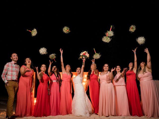 Rafa and Pau's Wedding in Cancun, Mexico 7