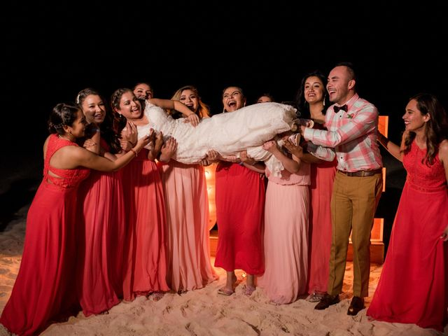Rafa and Pau's Wedding in Cancun, Mexico 8