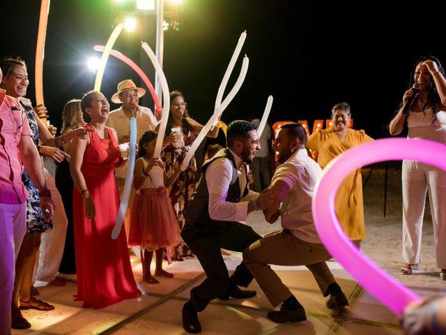 Rafa and Pau's Wedding in Cancun, Mexico 12