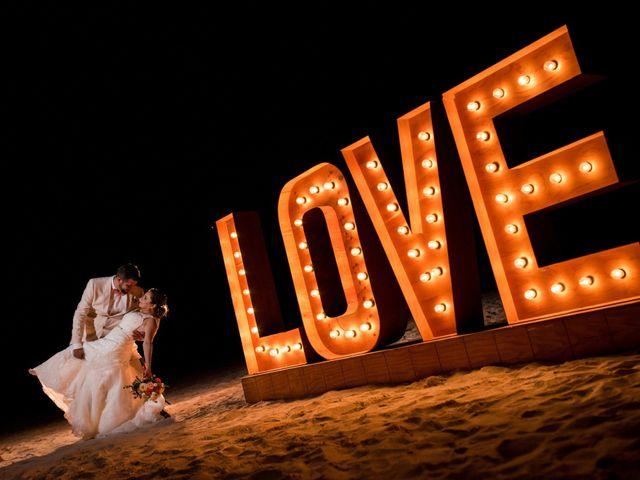 Rafa and Pau's Wedding in Cancun, Mexico 15