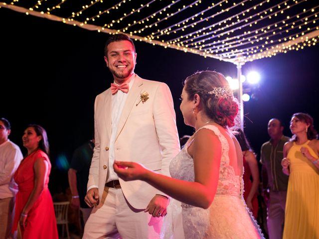 Rafa and Pau's Wedding in Cancun, Mexico 18