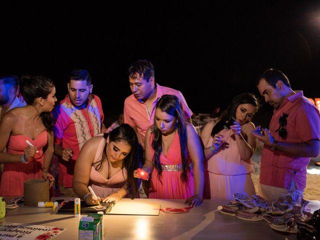 Rafa and Pau's Wedding in Cancun, Mexico 20