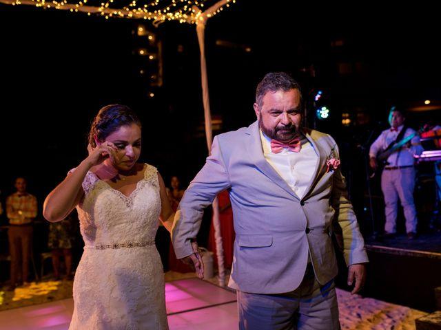 Rafa and Pau's Wedding in Cancun, Mexico 21