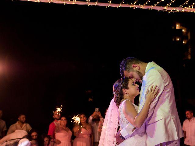 Rafa and Pau's Wedding in Cancun, Mexico 25