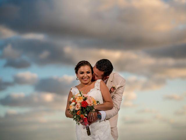 Rafa and Pau's Wedding in Cancun, Mexico 32