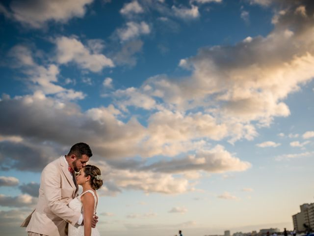 Rafa and Pau's Wedding in Cancun, Mexico 34