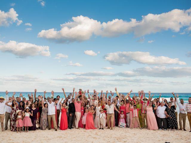 Rafa and Pau's Wedding in Cancun, Mexico 35
