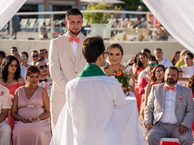 Rafa and Pau's Wedding in Cancun, Mexico 38