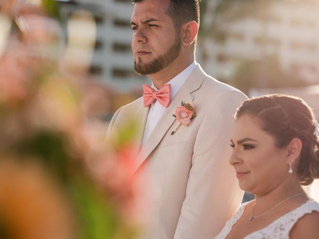 Rafa and Pau's Wedding in Cancun, Mexico 39