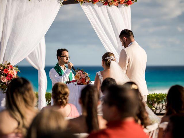 Rafa and Pau's Wedding in Cancun, Mexico 40