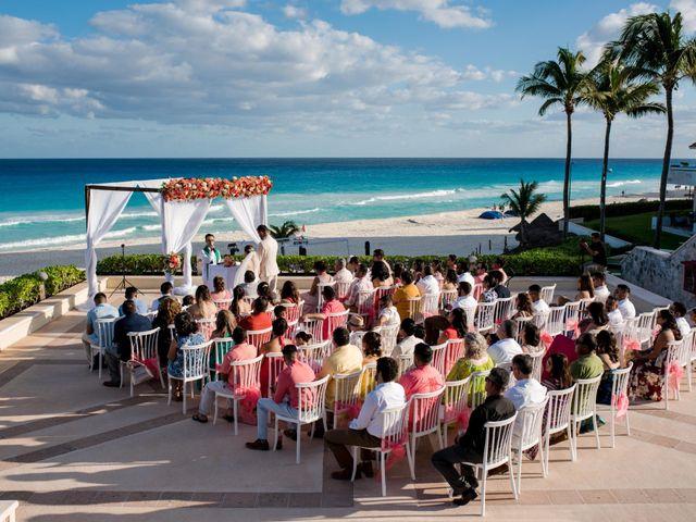 Rafa and Pau's Wedding in Cancun, Mexico 41