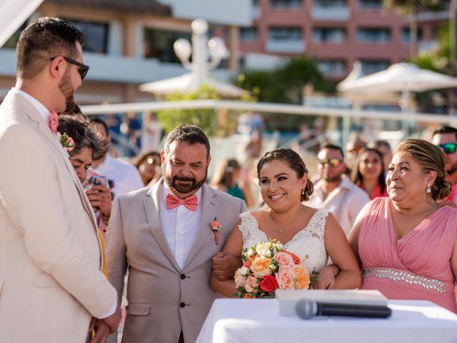 Rafa and Pau's Wedding in Cancun, Mexico 43