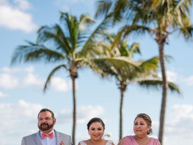 Rafa and Pau's Wedding in Cancun, Mexico 44