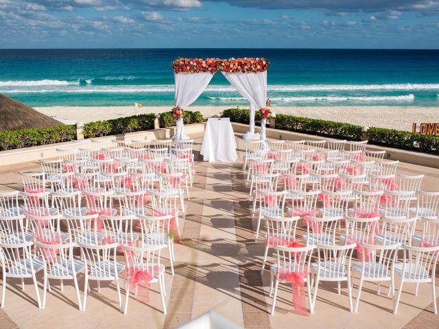 Rafa and Pau's Wedding in Cancun, Mexico 46
