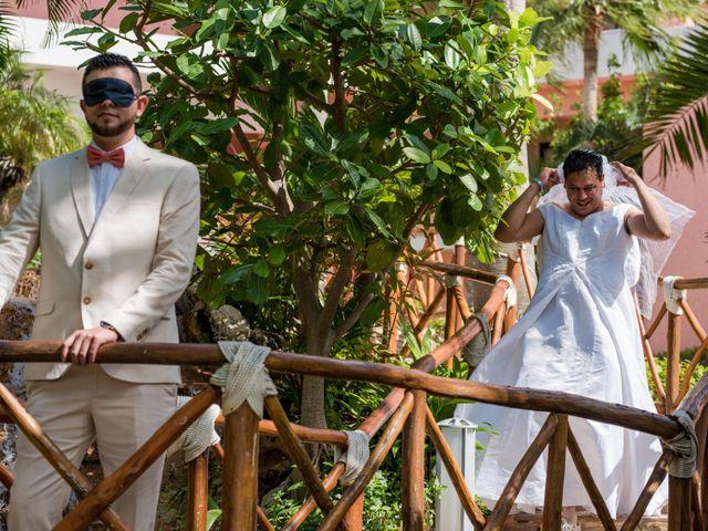 Rafa and Pau's Wedding in Cancun, Mexico 61