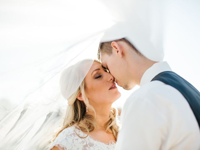 The wedding of Ellen and Clint