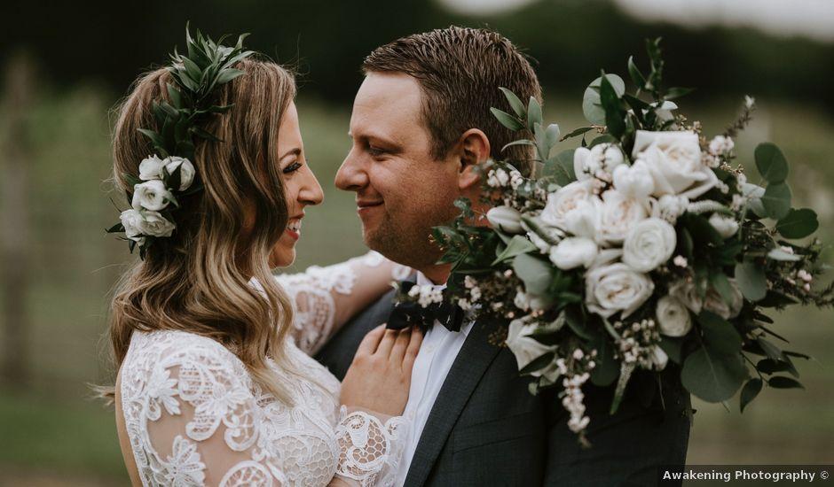 Forrest and Jennifer's Wedding in Springdale, Arkansas