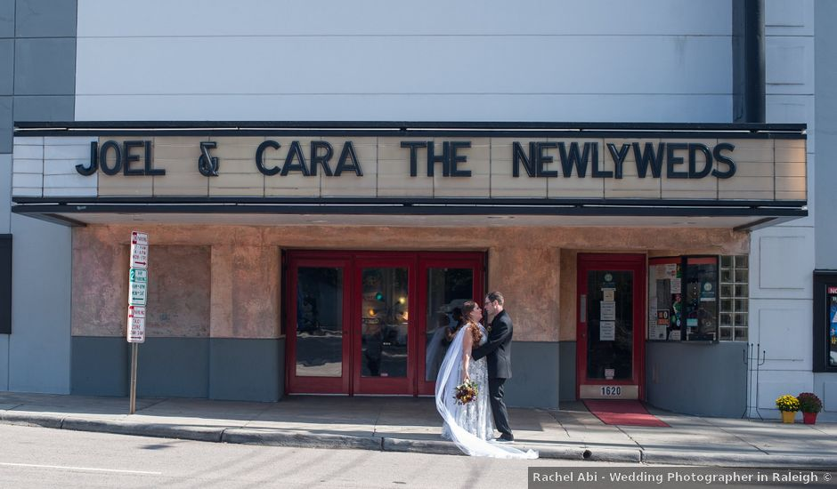 Joel and Cara's Wedding in Raleigh, North Carolina