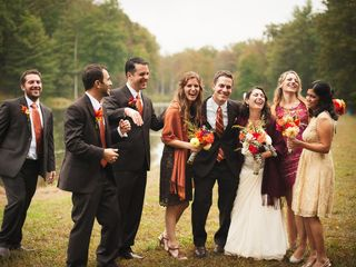 Melissa and Gregg's Wedding in Crozet, Virginia 3
