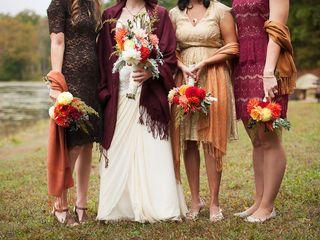 Melissa and Gregg's Wedding in Crozet, Virginia 6