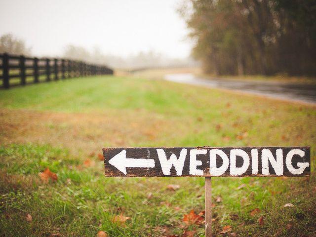 Melissa and Gregg's Wedding in Crozet, Virginia 1