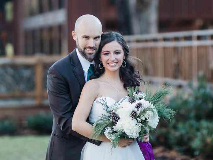 The wedding of Elaina and Clarke