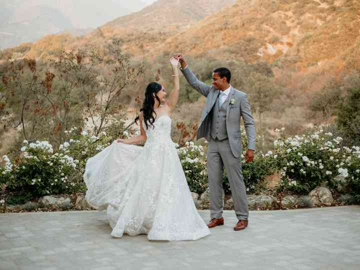 The wedding of Thao and Blair