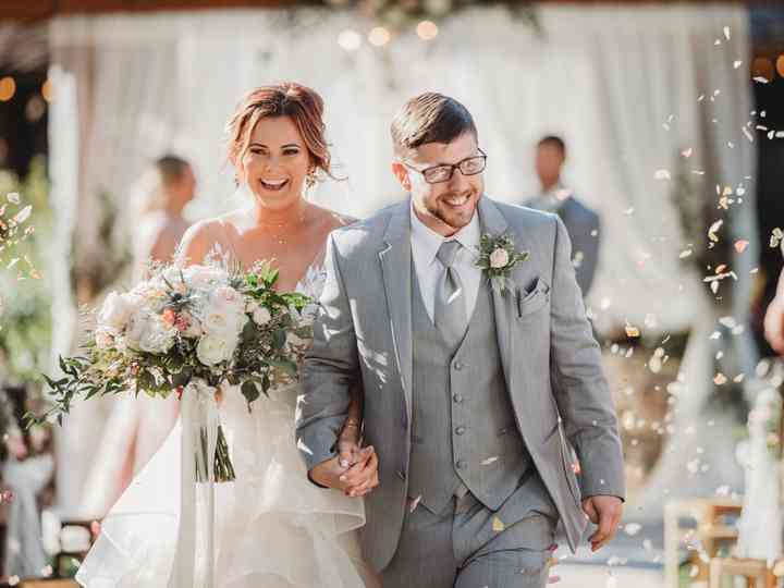 The wedding of Josh and Paige