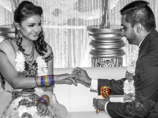 The wedding of Anjali and Ganesh