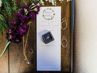The wedding of Elaina and Clarke 2