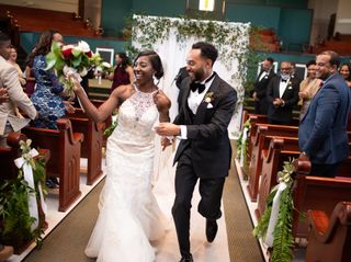 The wedding of Terrica and Braylon 1