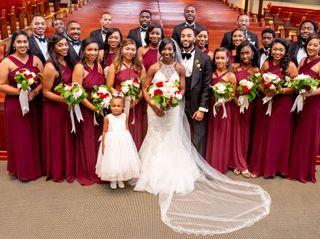 The wedding of Terrica and Braylon 3